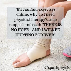 Exercise vs PT