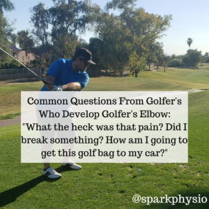 Golfer's Elbow Questions